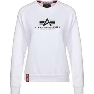 Alpha Industries New Basic W Sweatshirt Damen weiß