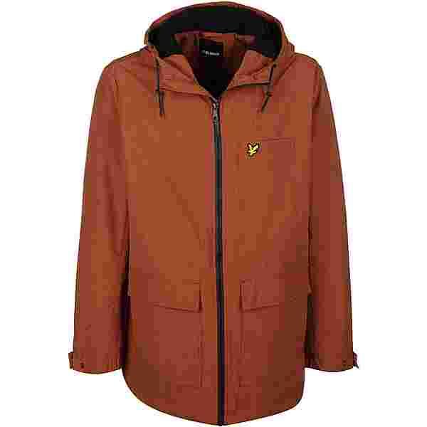 Lyle & Scott Micro Fleece Windbreaker Herren orange