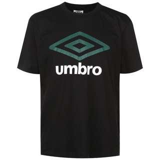 UMBRO Large Logo Funktionsshirt Herren schwarz / dunkelgrün