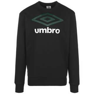 UMBRO Large Logo Sweatshirt Herren schwarz / dunkelgrün