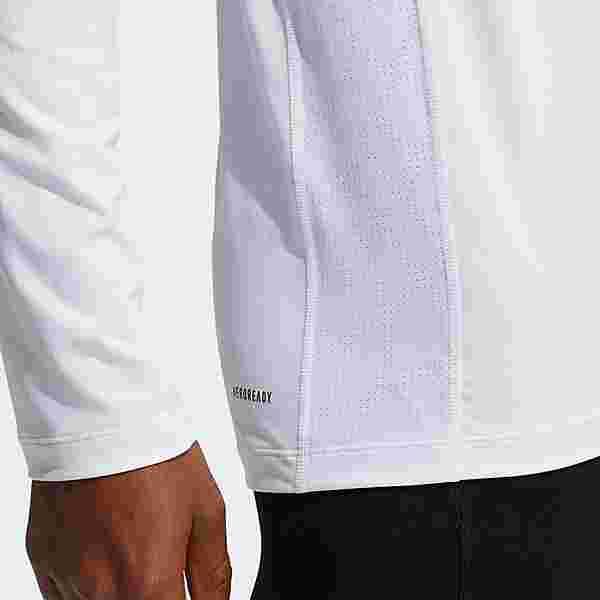 adidas Techfit Compression Longsleeve T-Shirt Herren Weiß