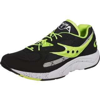 Saucony AYA Sneaker Herren schwarz/neon/grün