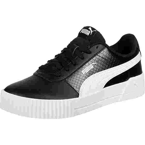 PUMA Carina Snake Sneaker Kinder schwarz