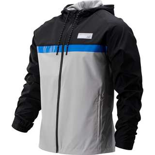 NEW BALANCE MJ73557 Trainingsjacke Herren grau/schwarz