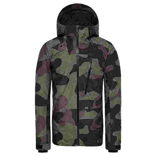 The North Face Descendit Skijacke Herren oliv
