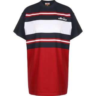Ellesse Gina W T-Shirt Damen rot/blau/gestreift
