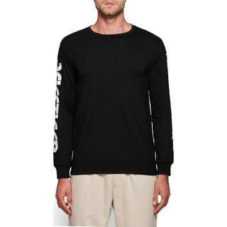 ASICS Sportswear Longshirt Herren schwarz