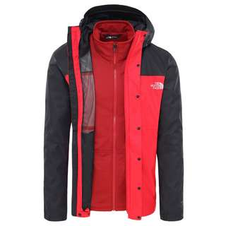 The North Face Quest Triclimate Doppeljacke Herren rot/schwarz