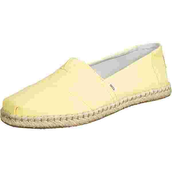 Toms Rope Sneaker Damen gelb