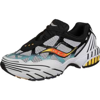 Saucony Grid Web Sneaker Herren weiß/blau/schwarz