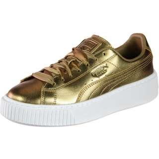 PUMA Basket Platform COP W Sneaker Damen gold
