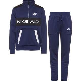 Nike NSW AIR Trainingsanzug Kinder midnight navy-black-white-white