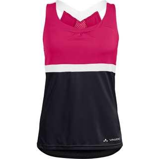 VAUDE Women's Advanced Top Funktionsshirt Damen black-pink