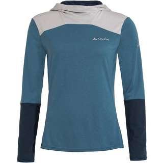 VAUDE Merino Women's Tremalzo LS Shirt Funktionsshirt Damen blue-grey