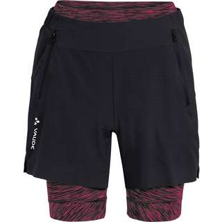 VAUDE Women's Altissimi Shorts Fahrradshorts Damen black