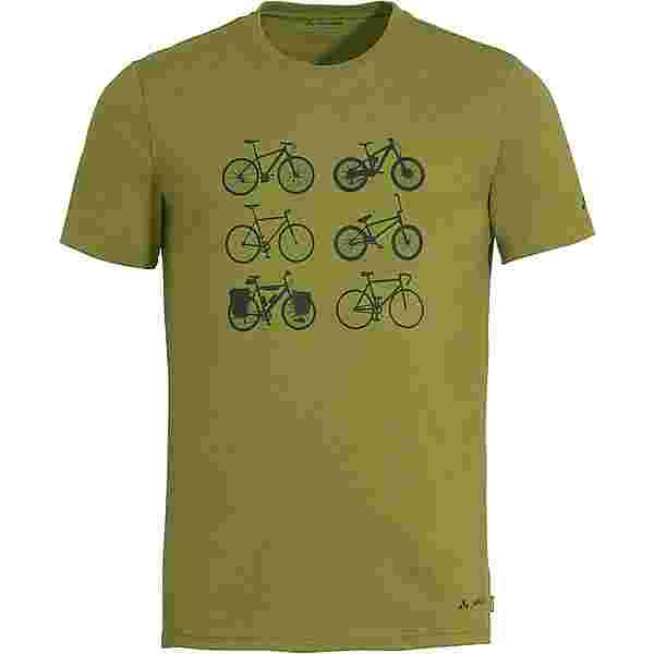 VAUDE Men's Cyclist T-Shirt V Funktionsshirt Herren avocado