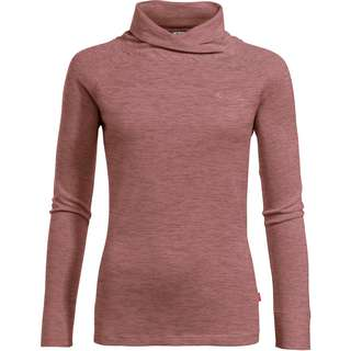 VAUDE Altiplano Langarmshirt Damen dusty rose