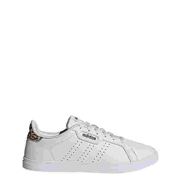 adidas Courtpoint Base Schuh Sneaker Damen Crystal White / Crystal White / Cloud White