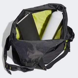 adidas Sports Causal Tragetasche Sporttasche Damen Black / Acid Yellow