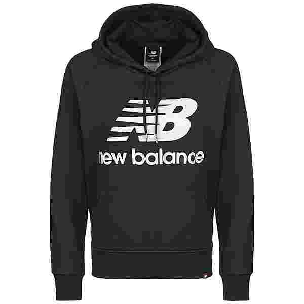NEW BALANCE Essentials Hoodie Damen dunkelblau / weiß