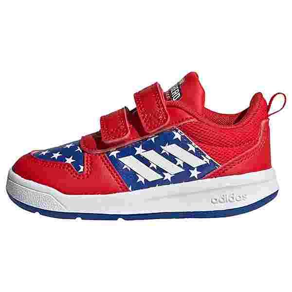 adidas Tensaur Schuh Laufschuhe Kinder Vivid Red / Cloud White / Royal Blue