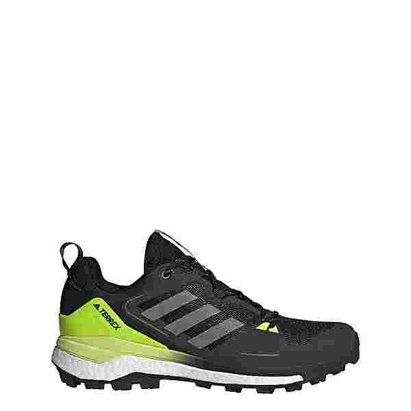 adidas TERREX Skychaser 2.0 Wanderschuh Wanderschuhe Herren Core Black / Grey Three / Solar Yellow