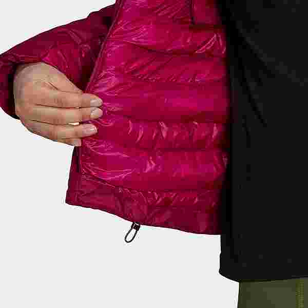adidas TERREX MYSHELTER Hooded Daunenjacke Funktionsjacke Damen Weinrot