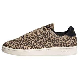 adidas Advantage Schuh Sneaker Damen Hazy Beige / Dark Brown / Cardboard