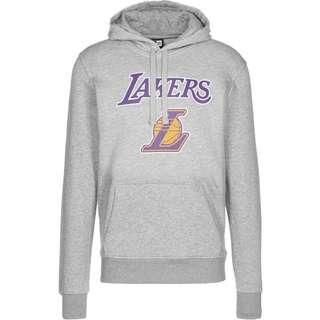 New Era LA Lakers Pullover Hoodie Herren grau/meliert