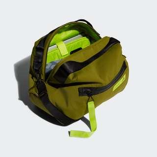 adidas Favorites Duffelbag Sporttasche Damen Wild Moss / Acid Yellow