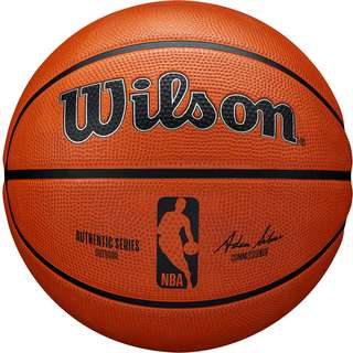 Wilson NBA AUTHENTIC SERIES OUTDOOR Basketball braun