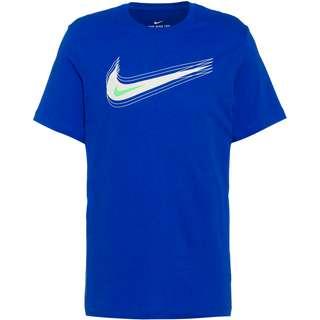 Nike NSW Swoosh T-Shirt Herren game royal-pale ivory