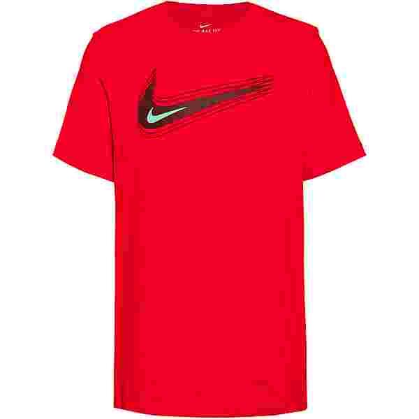 Nike NSW Swoosh T-Shirt Herren university red-bronze eclipse