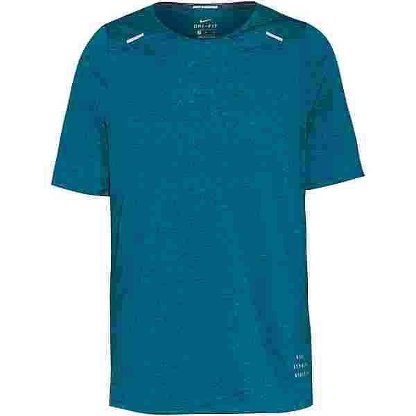 Nike Rise 365 Funktionsshirt Herren dark teal green-blustery-reflective silv