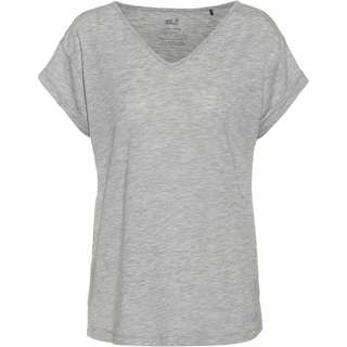 Jack Wolfskin CORAL COAST T-Shirt Damen light grey