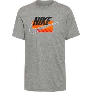 Nike NSW Brandmarks T-Shirt Herren dk grey heather-black