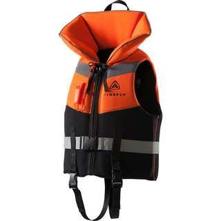 FIREFLY Rettungsweste Junio Schwimmhilfe Kinder black-orange