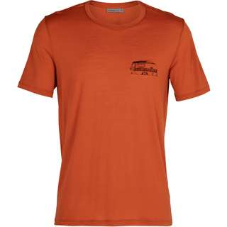 Icebreaker Merino TECH LITE THE GOOD LIFE Funktionsshirt Herren roote