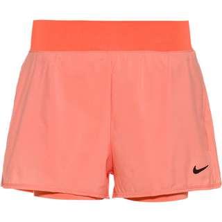 Nike Court Flex Victory Tennisshorts Damen crimson bliss-black