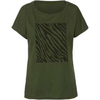 Maui Wowie T-Shirt Damen oliv