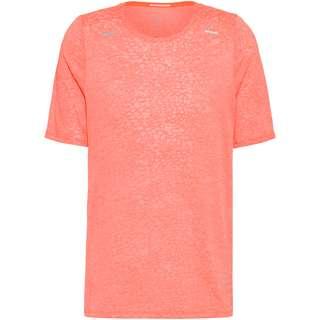 Nike Rise 365 Funktionsshirt Herren bright mango-white-reflective silv