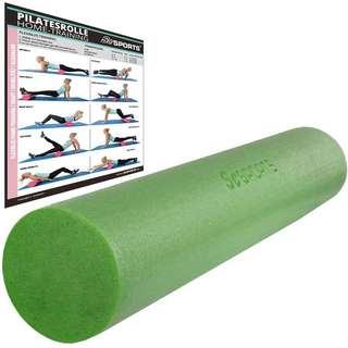 ScSPORTS Pilatesrolle  15 x 90 cm Pilates Rolle grün