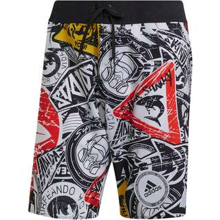 adidas BADGEUP TECH Boardshorts Herren black
