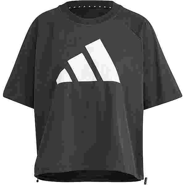 adidas Style Croptop Damen black
