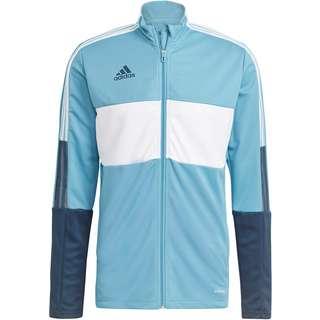 adidas Tiro Trainingsjacke Herren hazy blue-white