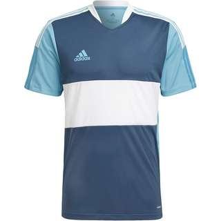 adidas Tiro Funktionsshirt Herren crew navy-hazy blue