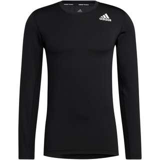 adidas Tech Fit Aeroready Funktionsshirt Herren black