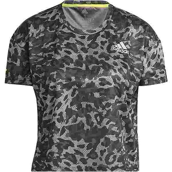 adidas PRIMEBLUE SUPERNOVA AEROREADY Funktionsshirt Damen grey four-multicolor