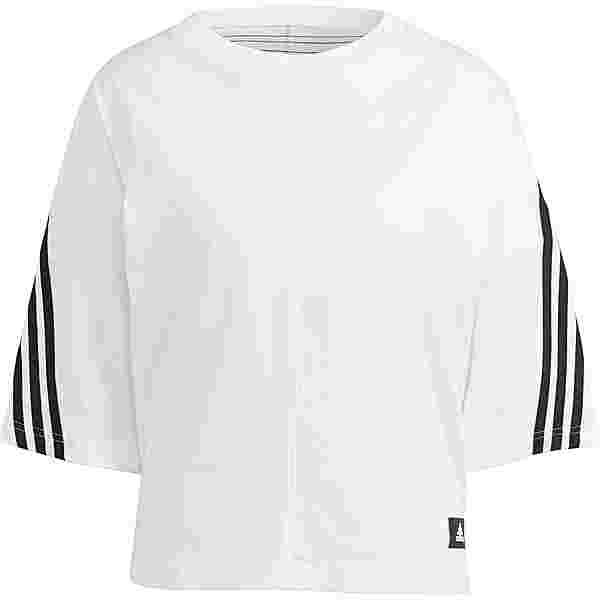 adidas 3-STRIPES SPORT MUST HAVES ENHANCED T-Shirt Damen white-black