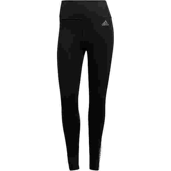 adidas ACTIVATED TECH DESIGNED2MOVE AEROREADY Tights Damen black